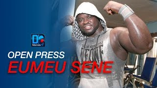 [ LIVE - LUTTE] Suivez l'Open Press de Eumeu Sene  à Pikine
