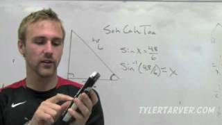 Geometry: 8-3 Solving Right Triangles