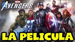 Marvel Avengers La Pelicula Completa En Español Latino Todas Las Cinematicas 1080p Youtube