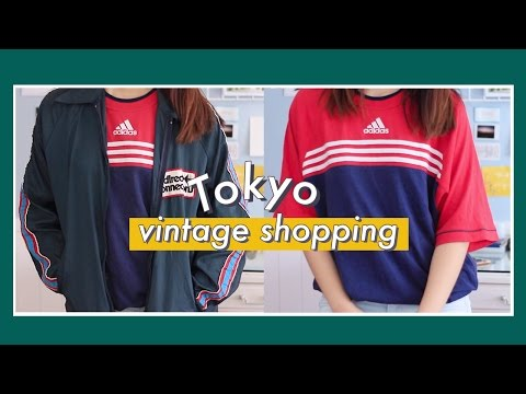Thrifting in Tokyo (Haul + Stores) | Nadine Felice