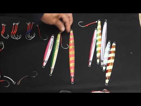ジギング釣果倍増計画1:アシストフックにチューブを被せる張りが命!!
