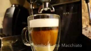 Bombón Latte Macchiato At Home With A Gaggia Classic