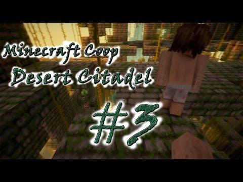 Смотреть прохождение игры [Coop] Minecraft Desert Citadel. Серия 3 - Ведьмы - с*ки!..