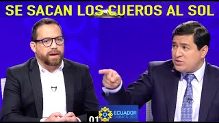 ANDRES ARAUZ es DENUNCIADO EN EL DEBATE PRESIDENCIAL por JUAN FERNANDO VELASCO