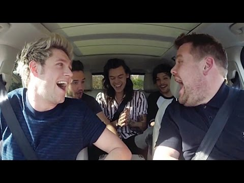 Niall Horan Would Marry Selena Gomez During 1D's Carpool Karaoke With James Corden