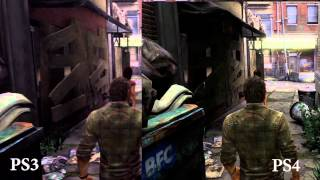 The Last of Us PS3 V PS4 comparison