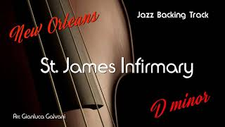 New Jazz Backing Track ST JAMES INFIRMARY D- Jazz Standard LIVE Play Along Jazzing Louis Armstrong