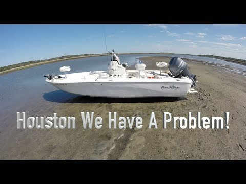 Inshore Fishing And Running Aground On A Sandbar St  Augustine Fl