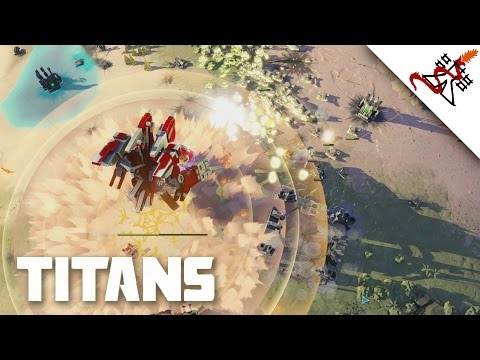 THE LAST STAND 6P FFA - Planetary Annihilation: TITANS | Multiplayer Gameplay