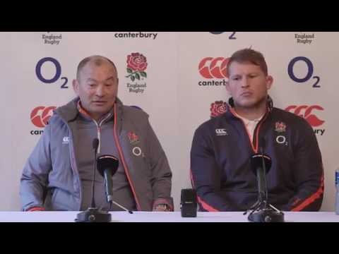 RBS 6 Nations Pregame Interview Eddie Jones And Dylan Hartley