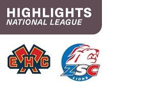 EHC Biel vs. ZSC Lions 2:4 - Highlights National League