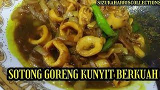 SOTONG GORENG KUNYIT BERKUAH SEDAP ...
