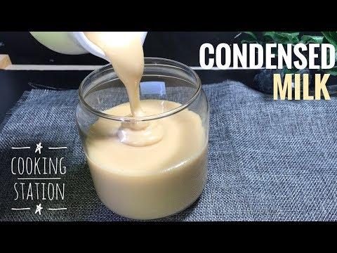 วิธีทำนมข้นหวาน โฮมเมด | How to make Sweetened Condensed Milk recipe