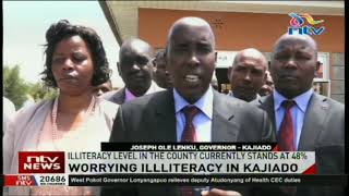 Worry as Illiteracy level in Kajiado county stands at 48%.