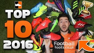 Best Boots of 2016 - Top 10 Soccer Cleats #2