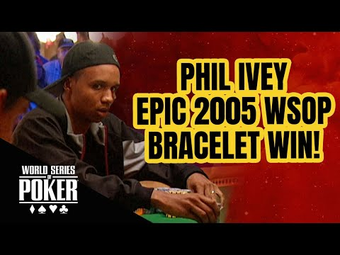 Phil Ivey World Series of Poker Pot Limit Omaha Domination!