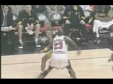 Jordan shuts down Reggie Miller - 0 pts in 4th qtr - 1998 ECF Game 7