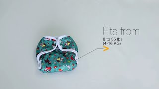 Bummis All-in-one diaper