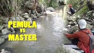 Duel Mancing Paling Seru!!! Strike bertubi tubi menyusuri sungai
