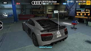 CSR 2 Trick To Win Audi R8 V10 plus Coupe