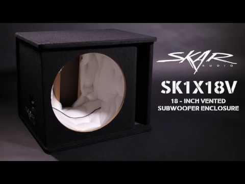 "Skar Audio SK1X18V Product Overview - Single 18"" Vented Enclosure"