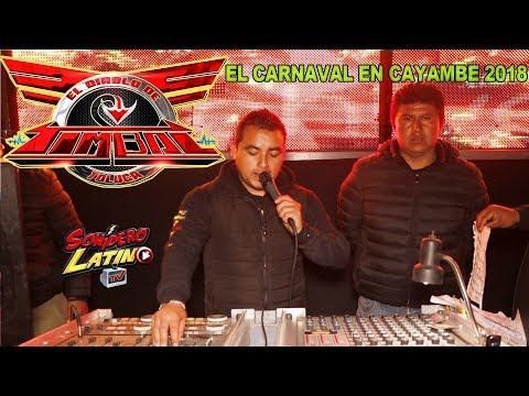 SONIDO TIMBAL - EL CARNAVAL EN CAYAMBE 2018  - PISTA LA CAPU 10 DE MARZO 2018 (IMAGENES DRONE )