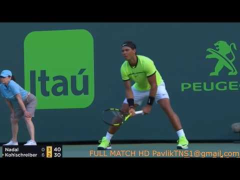 Rafael Nadal vs Philipp Kohlschreiber