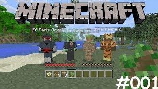 Let's Play Together Minecraft Xbox 360 #001 [Deutsch] [HD] - Hausbau