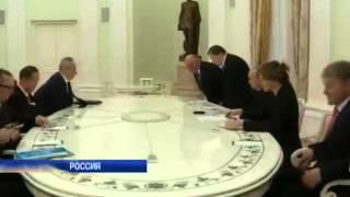 Генсек ООН Пан Ги Мун провел встречу с Путиным
