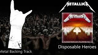 Metallica - Disposable Heroes Guitar Backing Track