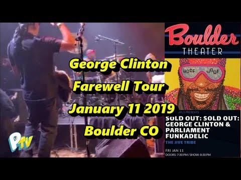 PTV - George Clinton Farewell Tour Boulder CO Mp3