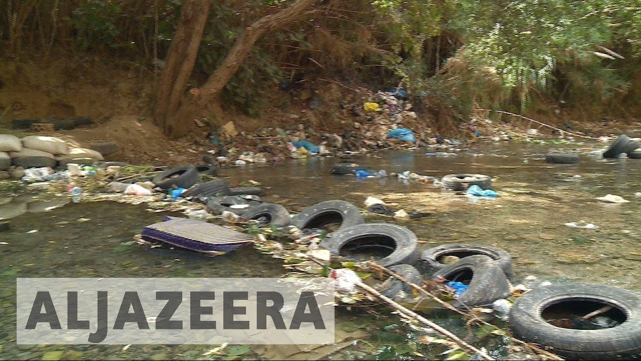 Lebanon's Litani River faces environmental crisis