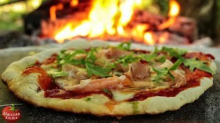 1000$ BEST PIZZA EVER! - In the Forest on Fire