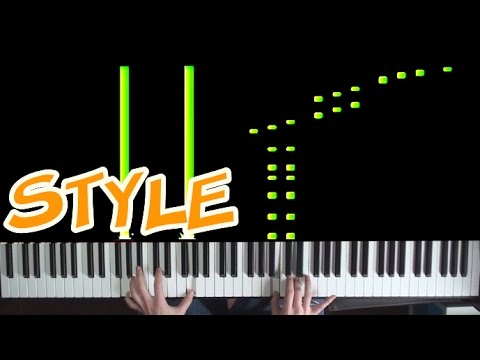 EPIC Piano Cover - Style - Taylor Swift +...