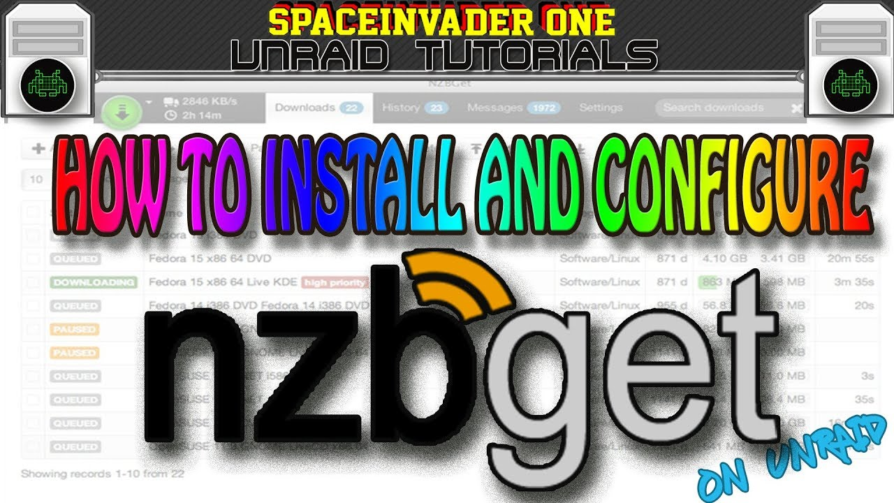 How to easily install and configure nzbget on unRAID
