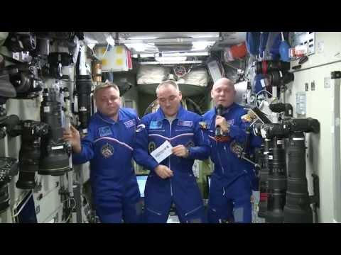 Космонавты с МКС поздравляют Тюменскую область с 70-летием