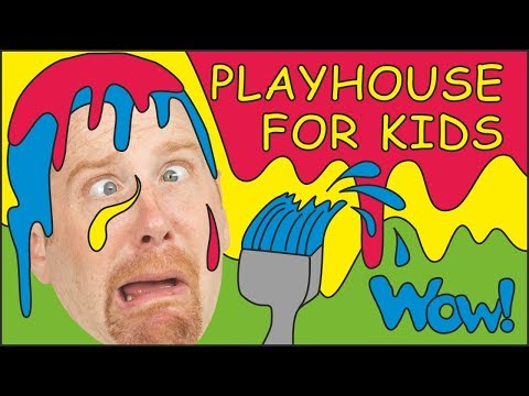 Playhouse for Kids  MORE English Stories for Children from Steve and Maggie  Learn Wow English TV