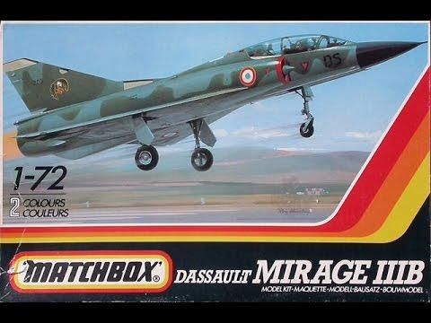 "Matchbox 1/72 Dassault Mirage IIIb- ""Full Build + Final Reveal"" (12.9.16)"
