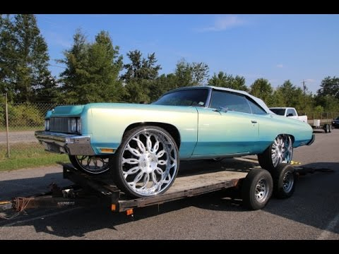 WhipAddict: 73' Chevrolet Caprice Convertible, Exclusive Forged 30s, Outrageous Paint