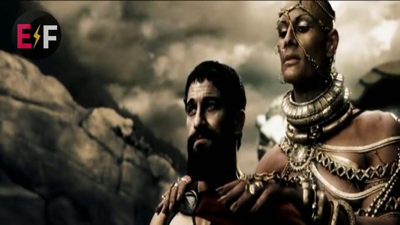 Download Scène mythique LEONIDAS vs XERCESS - FILM 300 Partie 13