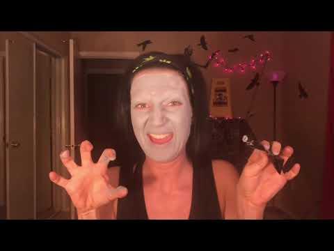 """""""The Nun makeup tutorial"""" after special treats"""
