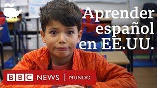 Niños estadounidenses no hispanos deletrean palabras en español | BBC Mundo