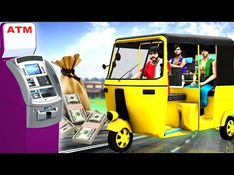 Auto Driver Story - Hindi Kahaniya - Moral Kahani - Bedtime stories - Fairy Tales