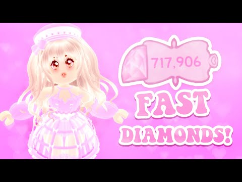 How To Get 100,000 DIAMONDS FAST! Best \u0026 Easiest Ways To Get SUPER Rich On Roblox Royale High School