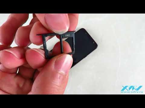 Как вставить SIM-карту в Samsung Galaxy A6+ (2018) (XDRV.RU)