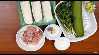 Cách Nấu Canh Sườn Bí Đao Ngon Ngọt Nhất | Hồn Việt Food