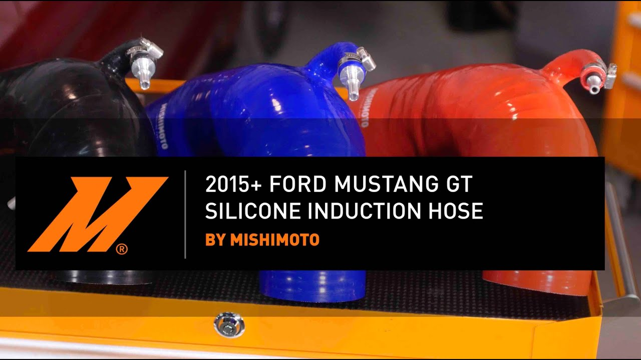 2015+ Ford Mustang GT Silicone Induction Hose Installation Guide By  Mishimoto