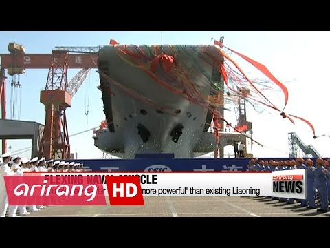 New Chinese aircraft carrier 'six times more powerful' than existing Liaoning