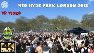 April 20th 4:20pm Hyde Park London today. Happy 420 guys! This is a 360° VR video.