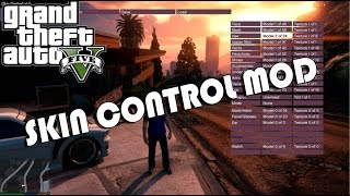 GTA V - Skin Control Mod (Change to any skin ingame!)